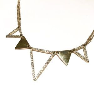 • the LC triangle necklace